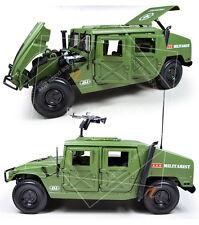 Super High Details 1:18 Humvee Military Camoflage Diecast Model Truck SUV Hummer