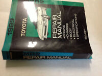 1989 Toyota MR2 MR 2 Service Repair Shop Manual SET W Electrical Wiring Diagram