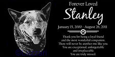 Personalized Australian Cattle Dog Red Blue Heeler Pet Memorial 12x6 Headstone