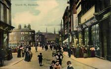 Blackburn. Church Street in West End Series by A.E. Shaw, Blackburn.