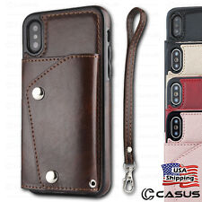 a0f49bf4b7c9ba Leather Cell Phone Wallet Cases for iPhone with Card Pocket for sale ...