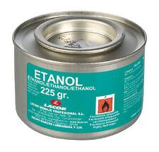 Lacor  Alcool | Boîte d'alcool à brûler / éthanol en gel - 225g - Lot de 6