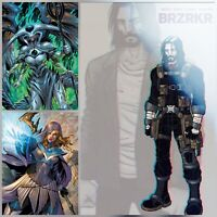 BRZRKR #1 (4th Fourth Print Foil) with Magic #1 Tyler Kirkham Exclusives (3pack)