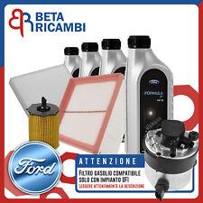 Kit Tagliando Ford Fiesta VI 1.6 TDCi + 4 L Ford Formula F 5W30 (IMP. UFI)