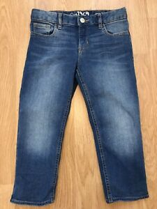Girls Gap Cropped Jeans Age 10 Years