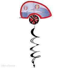 Caravan Spinner. Teardrop Trailer Theme Twister. Caravan. Garden Spinner