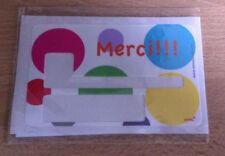 """Sticker pour Carte Bleue """"MERCI !!"""" Anna's shop * NEUF !! * Prix cassé !!!! *"""