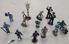 Vintage Lead Painted Figures  Made in England Lot of 13