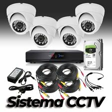 CCTV Grabador DVR AHDK020 4 Camaras interior HD 720p Disco Duro 1Tb Grabaciones