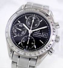 OMEGA SPEEDMASTER AUTOMATIC CHRONOGRAPH CAL1152 BLACK DIAL MEN'S WATCH