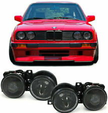 SMOKED PROJECTOR HEADLIGHTS FOR BMW E30 3 SERIES 10/1987-12/1993 MODEL