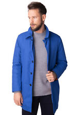 MANUEL RITZ Mac Coat Size 50 / L Padded Quilted Inside Made in Italy RRP €360