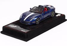 BBR BBRC182E - Ferrari F60 America Blue Nart White Italy Liver 1/43