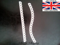 wavy straight lace edge border set metal cutting die cutter UK Fast posting