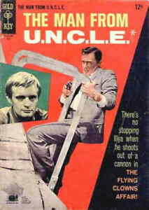 Man from U.N.C.L.E., The #13 VG; Gold Key | low grade comic - save on shipping -