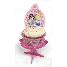 4 pièces Princesse Disney scintillant style fête d'anniversaire mini