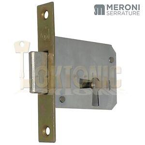 Meroni MPE Mortise Dead Lock Cabinet Office Furniture Locker Cupboard Locks