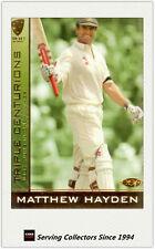 2004-05 Cricket Australia Trading Cards TRIPLE CENTURION TC1 MATTHEW HAYDEN