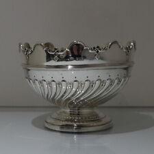 19th Century Antique Victorian Sterling Silver Rose Bowl London 1898 Elkington