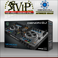 Denon DJ MC4000 Premium 2-Channel Serato MIDI Sample Pad Controller MC4000 NEW.