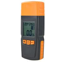 1X(Misuratore di Umidità Del Legno Misuratore di Umidità Digitale Tester Ig J2A3