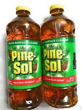New Original Pine-Sol Multi-Surface Cleaner, Kills 99% Of Germs, 48 fl oz, Lot 2