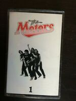 THE MOTORS - 1   CASSETTE  EX+(insert)/EX+(tape)