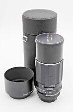 Pentax Asahi Super-Takumar 200mm F/4 Telephoto Lens m42 Screw Mount w/ Case