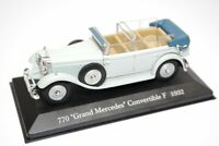Mercedes-Benz 770 Grand Cabrio F W07 1932 Year 1/43 Scale Collectible Model Car