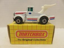 1982 Matchbox Lesney Tyrone Malone #66 Kenworth Truck Super Boss Die-Cast Metal