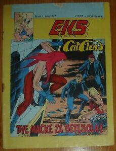 Cat Claw / Eks almanah 537 / Yugoslavia 1989 / Kerac