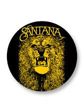 "Pin Button Badge Ø25mm 1"" Carlos Santana Rock Mexico"