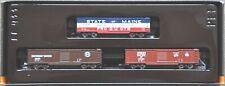 1:220 MARKLIN Z 8205 3 USA BOXCAR  SET -