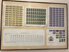 SIGNED COLLECTION OF NIGERIA NIGERIAN STAMPS