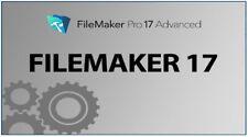 Filemaker Pro 17 Advanced Full License MAC OSx - Fast Delivery & Warranty