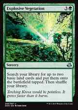 Explosive Vegetation -NM- Duel Decks: Elspeth Vs. Kiora MTG Green Uncommon