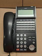 NEC Black DTL-24D Phone DT300 Series Renewed Warranty Refurbished SV8100