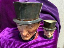 Royal Doulton Large & Medium Toby Mugs John Peel