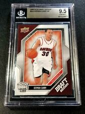 STEPHEN CURRY 2009 UPPER DECK #34 DRAFT EDITION SP ROOKIE RC BGS 9.5 WARRIORS