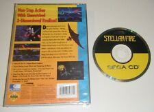 Stellar-Fire GAME AND CASE BACK for your SEGA CD system - CDX