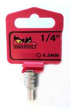 TENG TOOLS m1405045-c with 0.6cm UNIDAD 25670159 Enchufe Hexagonal 4,5mm