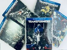 Transformers 1-5 Collection Best Buy Exclusive Bluray Steelbooks