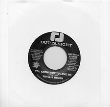 PHYLLIS HYMAN  YOU KNOW HOW TO LOVE ME / UNDER YOUR SPELL UK OUTTASIGHT  70s X/O