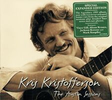 Kris Kristofferson: The Austin Sessions (w. bonus tracks) - new/sealed CD (2017)