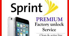 Factory Unlock Service Sprint Usa - IPhone XS/XS Max/XR/11/11Pro/11Pro Max Clean