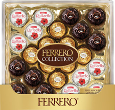 Ferrero Rocher Chocolate Collection Gift Box - Pack of 24