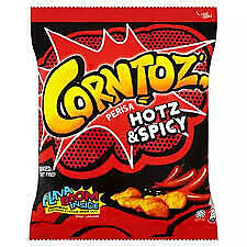 Malaysia Hot & Spicy Corntoz baked corn snack 50g x 3 packets