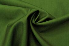 E96 DARK GREEN 2 TONE PLAIN WEAVE DELUXE SUPER FINE WOOL & SILK MADE IN ITALY