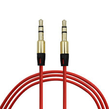 RED 3.5mm Audio Cable Car AUX-In Cord Lead for Logitech UE 4000 Headphone