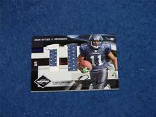 DEON BUTLER SEAHAWKS 2009 LIMITED ROOKIE JUMBO JERSEY NUMBER PRIME AUTO 1/5 (E5)